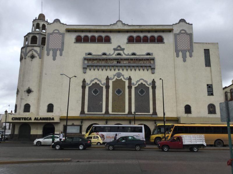 Cineteca alameda en el centro histórico de san luis potosí