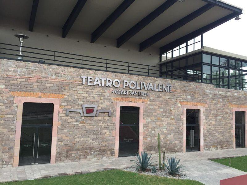 Que hacer en San Luis Potosí CulturaViva Teatro Polivalente