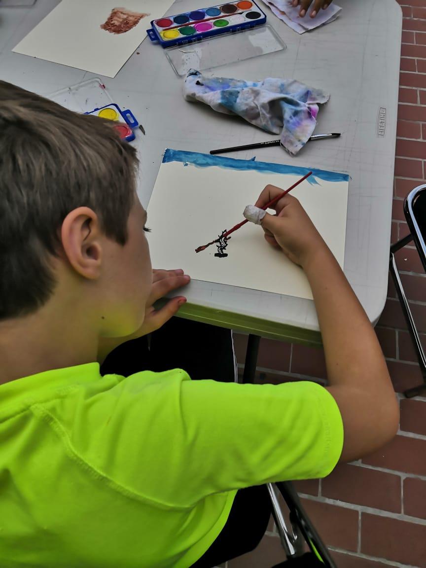taller de arte para niños 2