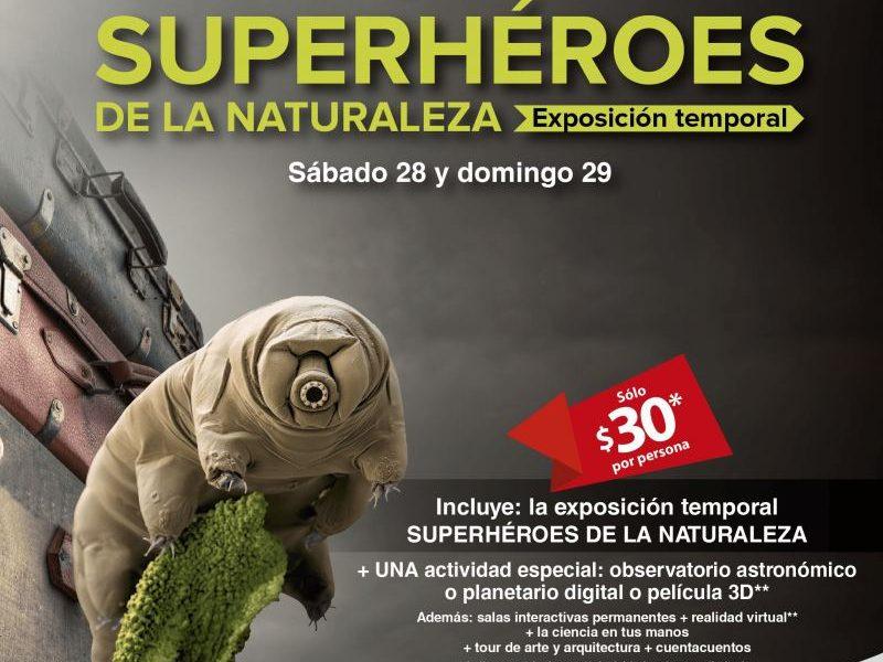 Se Va Superheroes de la naturaleza Laberinto de las ciencias y las artes