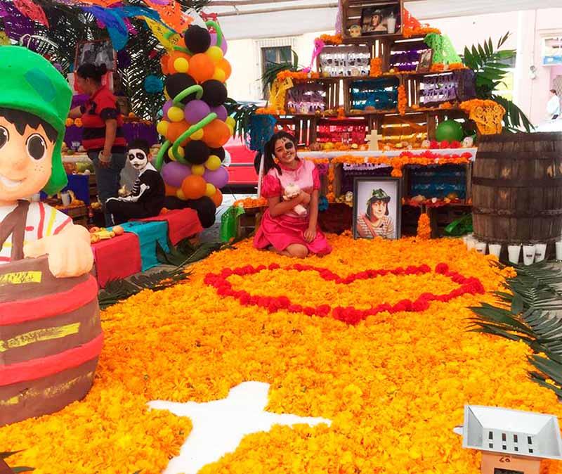 altar de muertos Soledad